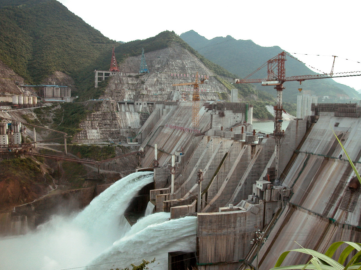 pictures Asian dams