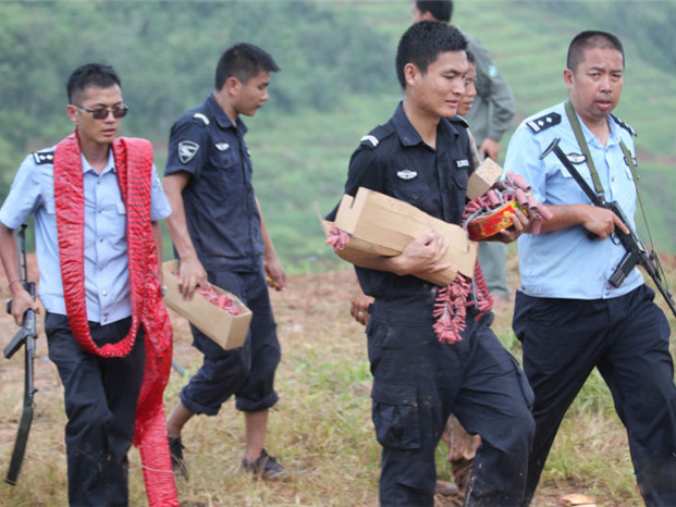 Just another day at work for the Yunnan forestry police