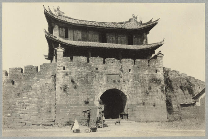 City gate March 10, 1922