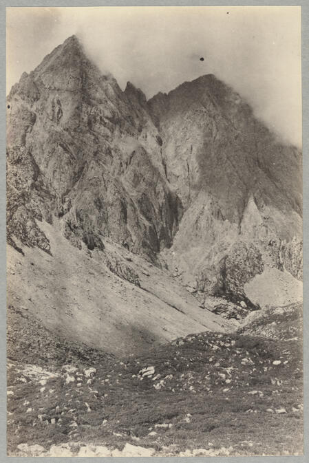 Mountain peaks July 8, 1922