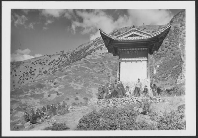 Installation of Lhasa Incarnation at Yung-ning 1931 or 1932