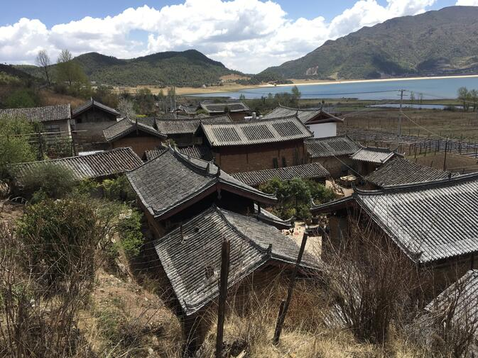 Roofs in Wenhai Village