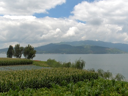 Fuxian Lake's water quality rating could be downgraded to class II.