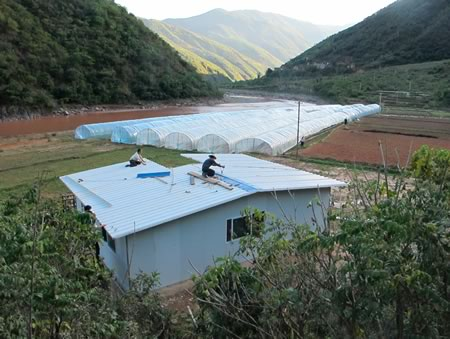 The newest Haobao farm, in Shuangbai, Chuxiong Prefecture