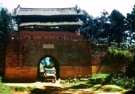 A gate in Kunming's old city wall