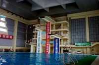 The diving well at Haigeng National Training Center