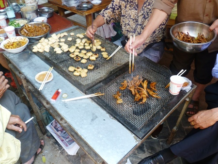 Stinky tofu and chicken feet