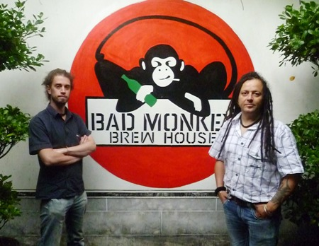 Scott Williams (l) and Carl Oakley of the Bad Monkey