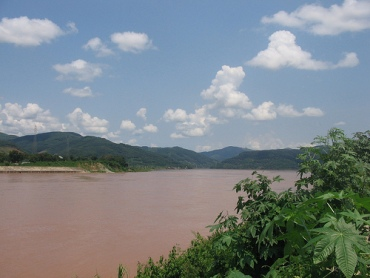 The Lancang River in Xishuangbanna