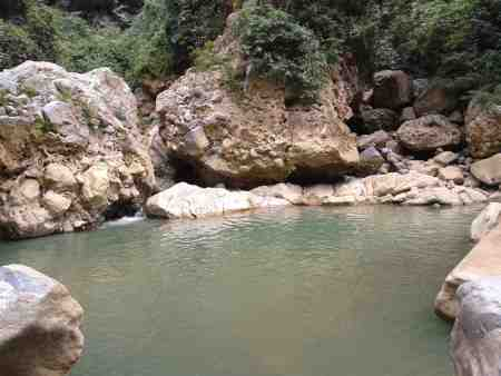 Swimming hole on the Nanxi River (MH)
