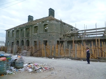 The former British consulate building in Tengchong, circa last week