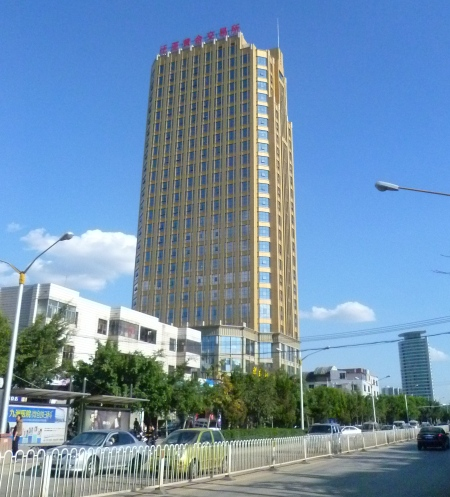 Center of speculation: Pan-Asia Gold Exchange's headquarters in north Kunming