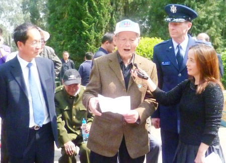 World War II veteran Lu Jianhang