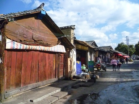 Older buildings in Tengchong are disappearing quickly