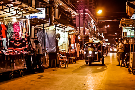 One of Chiang Mai's many night markets
