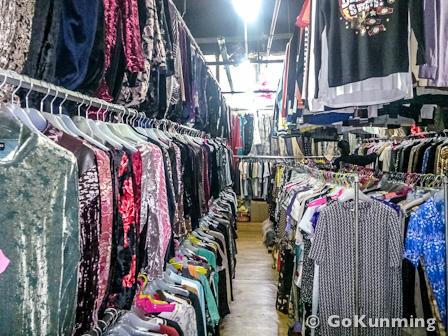 Around Town Secondhand Clothing Market Gokunming