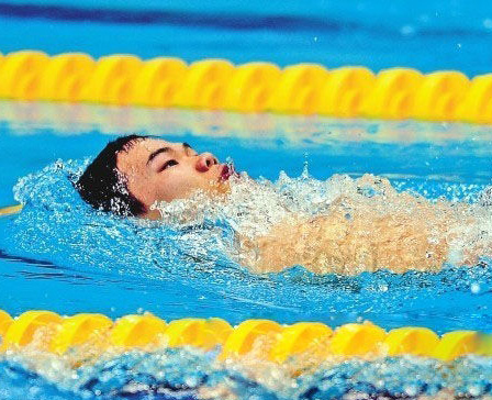 Zheng Tao, from Yunnan, competes at the 2012 London Paralympic Games