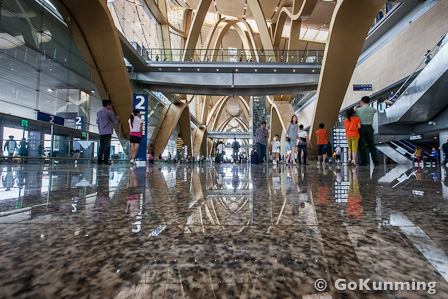 Kunming Changshui International Airport officially opened in June 2012 (photo: Yereth Jansen)