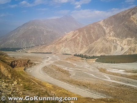 Dongchuan's 'milk river' flowing through mountains scarred by mining and erosion