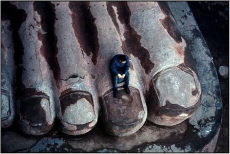 Bruno Barbey: China, Leshan, 1980