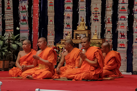 Dai Monks in Xishuangbanna