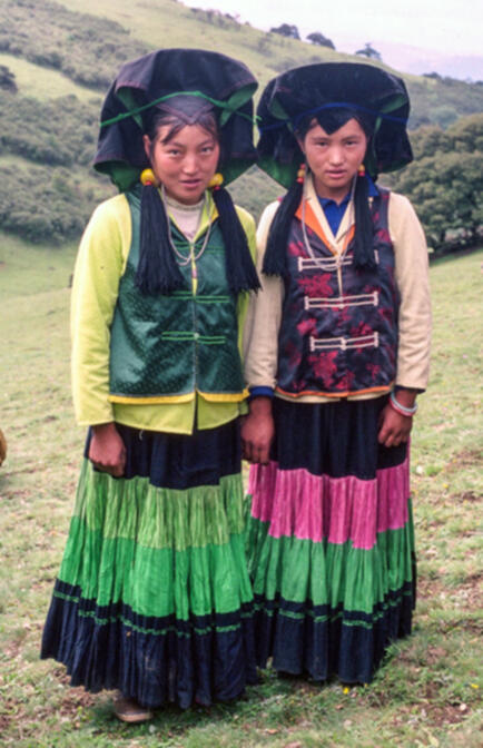Black Yi women, Ninglang County