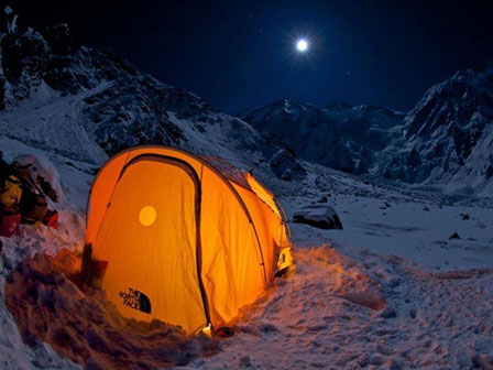 Basecamp on Nanga Parbat in Pakistan, where 11 alpinists were murdered on June 23
