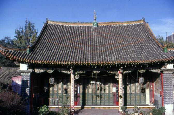 Former Chinese-style mosque in Kunming