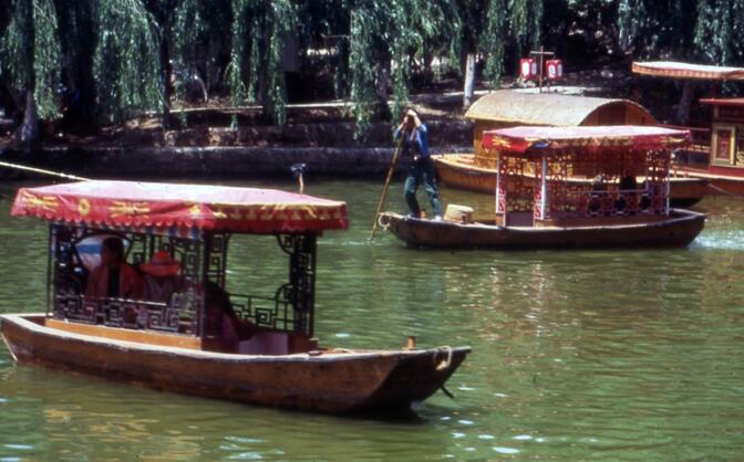 Green Lake boats in the early 1990s