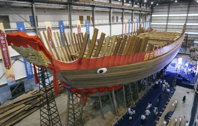 Zheng He Ship Replica Delays plague Z...