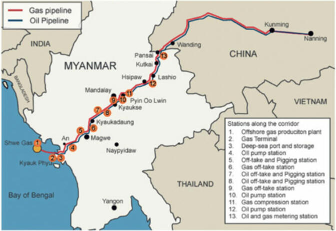 20 billion sino burmese railroad abruptly cancelled gokunming in myanmar the path of the pipeline as well as the proposed railroad snakes through rakhine state the magway and mandalay regions and shan state gumiabroncs Choice Image