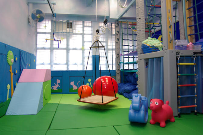 More For Baby teachers are hoping to build a sensory integration therapy classroom much like this one