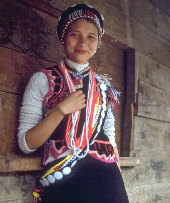 Lisu woman in Fugong