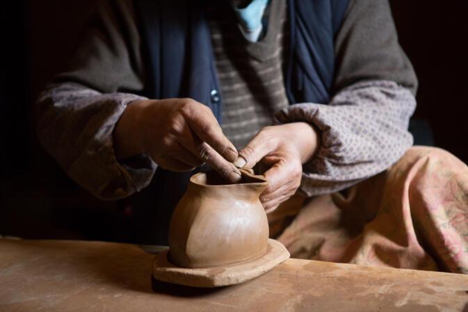Snapshot Pottery Making In Northwest Yunnan Gokunming