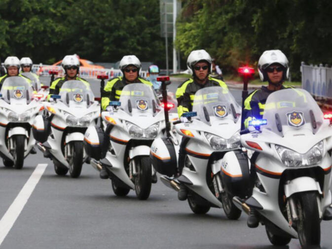 The tourism police brigade in Sanya, China's first municipal law enforcement department of its kind, now duplicated on a provincial level in Yunnan
