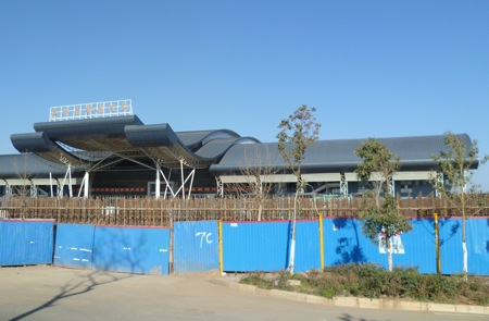 The new South Bus Station is relatively close to downtown Kunming