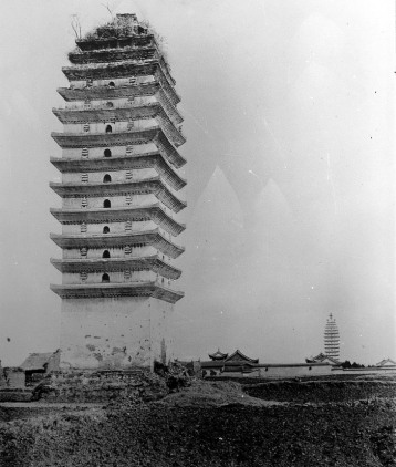 Kunming's Eastern and Western Pagodas in 1901