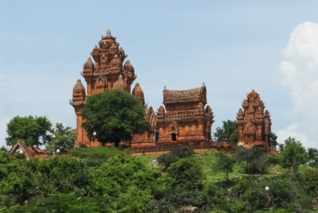 Poklong Garai, one of the best preserved Cham temples in Vietnam