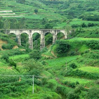 Narrow gauge railway aqueduct (image credit Benjamin Campbell)