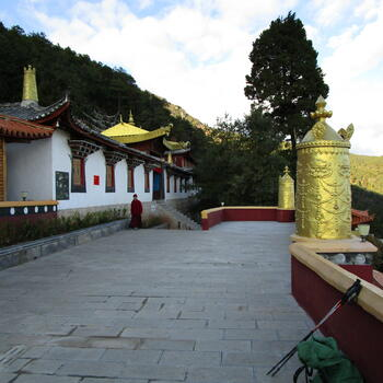 Upper compound of Wenfeng Temple