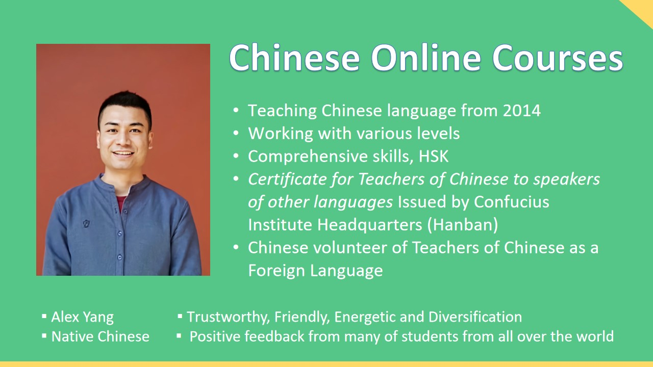Chinese language teacher