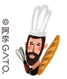 阿李Gato - French Bakery by 李逍遥